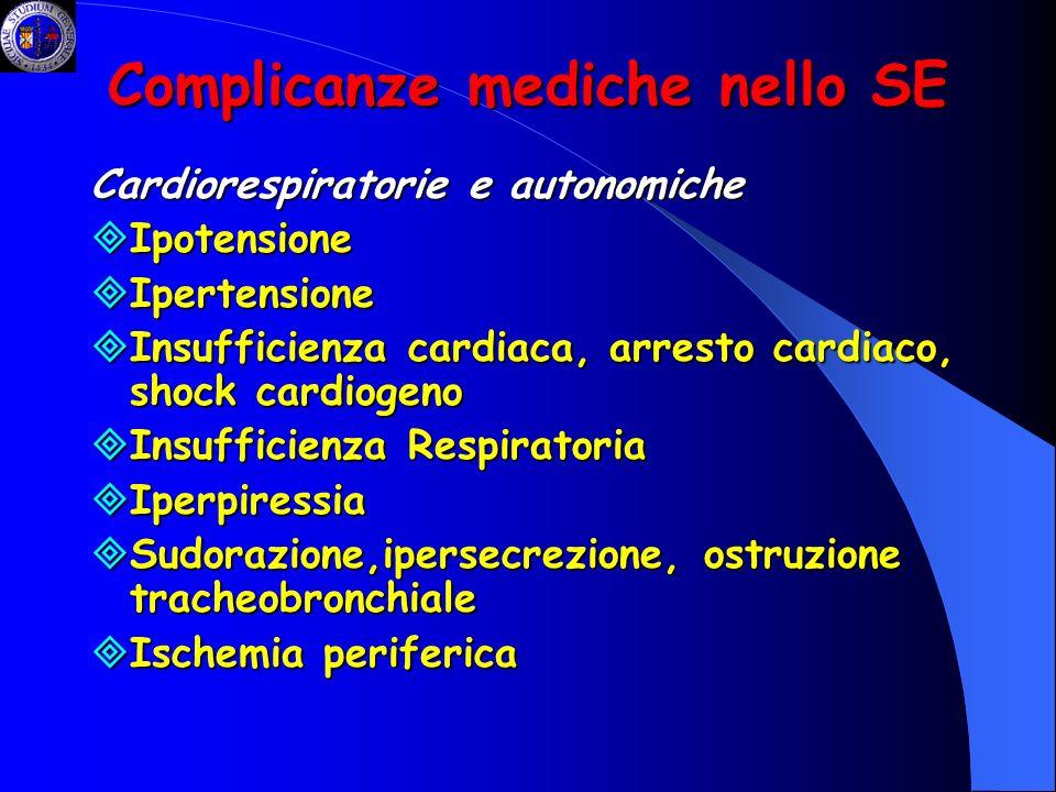 Complicanze mediche nello SE