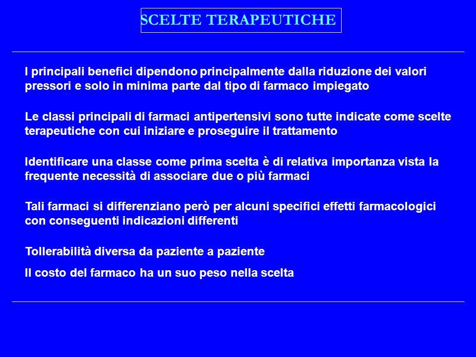 SCELTE TERAPEUTICHE
