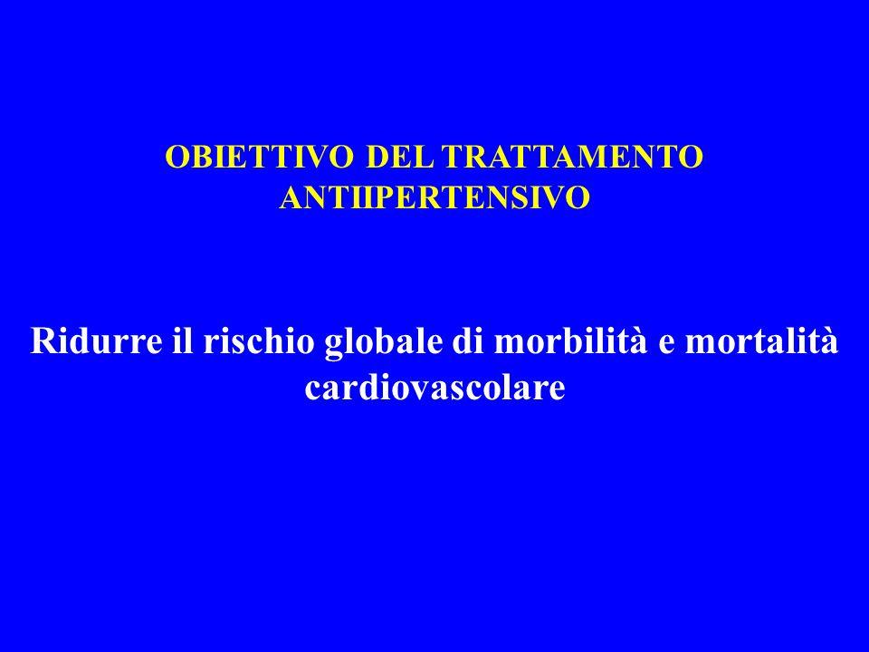 Ridurre il rischio globale di morbilità e mortalità cardiovascolare