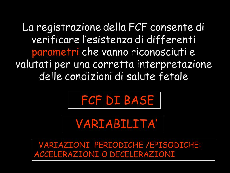 FFCF DI BASE FVARIABILITA'