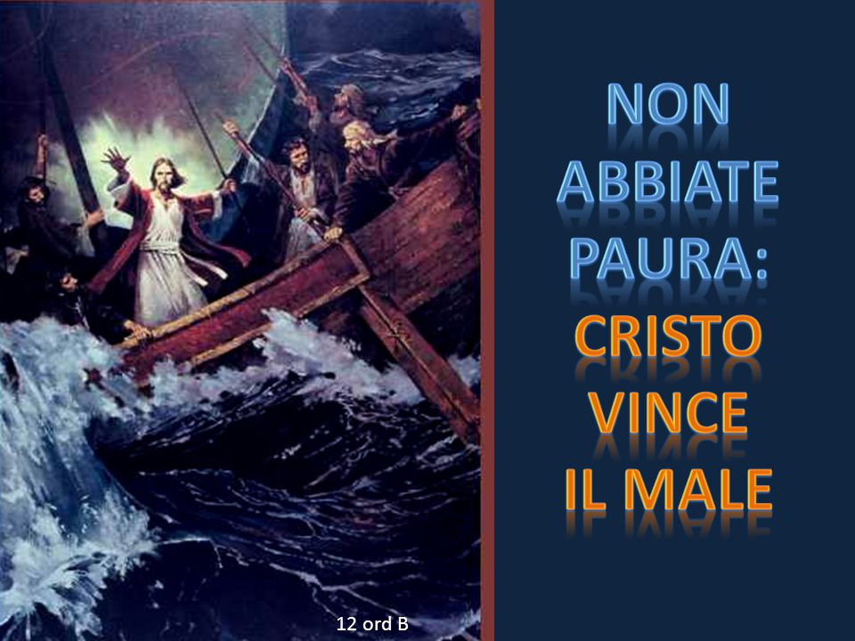Non Abbiate Paura: Cristo Vince Il male
