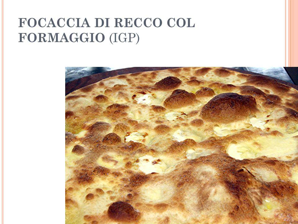 FOCACCIA DI RECCO COL FORMAGGIO (IGP)
