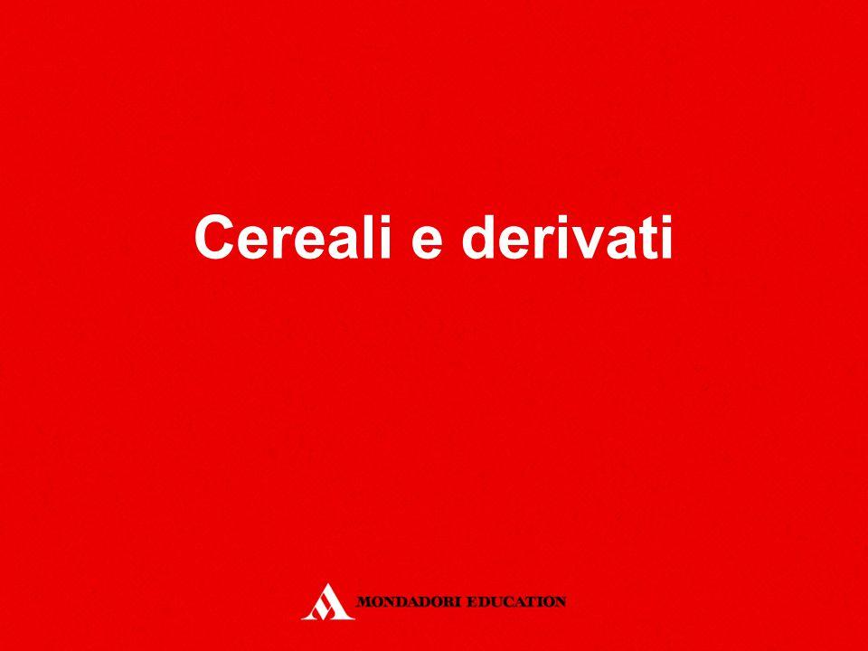 Cereali e derivati