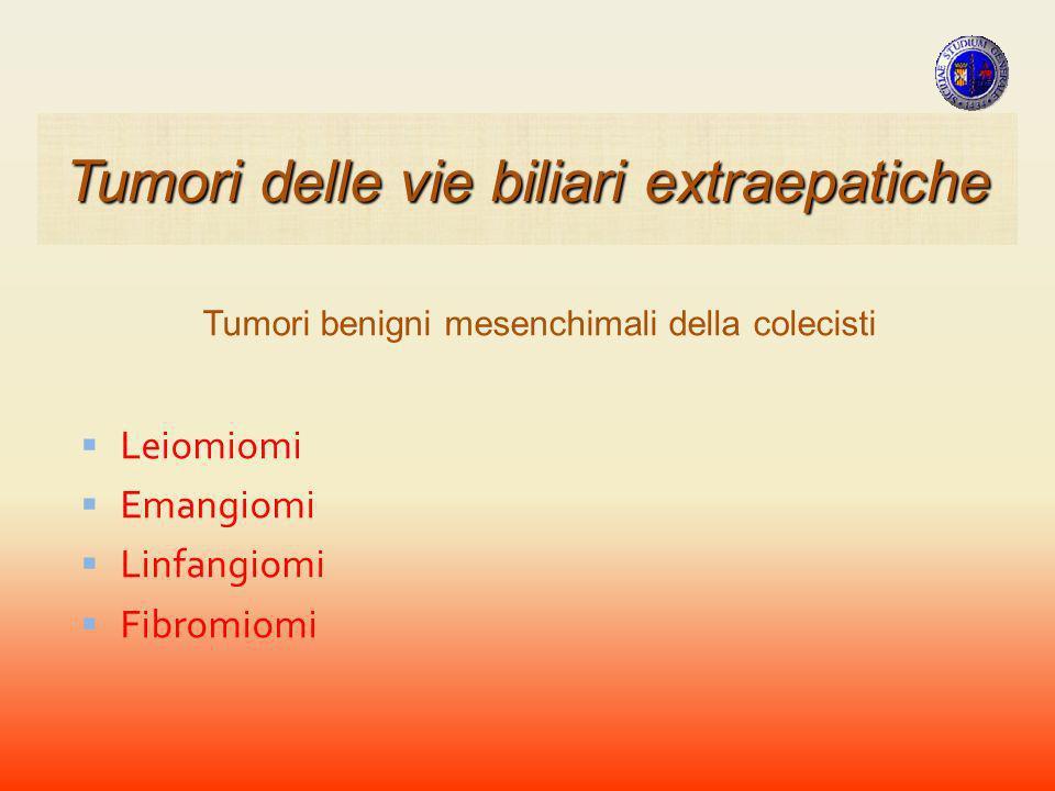 Tumori delle vie biliari extraepatiche