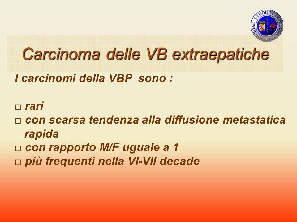 Carcinoma delle VB extraepatiche