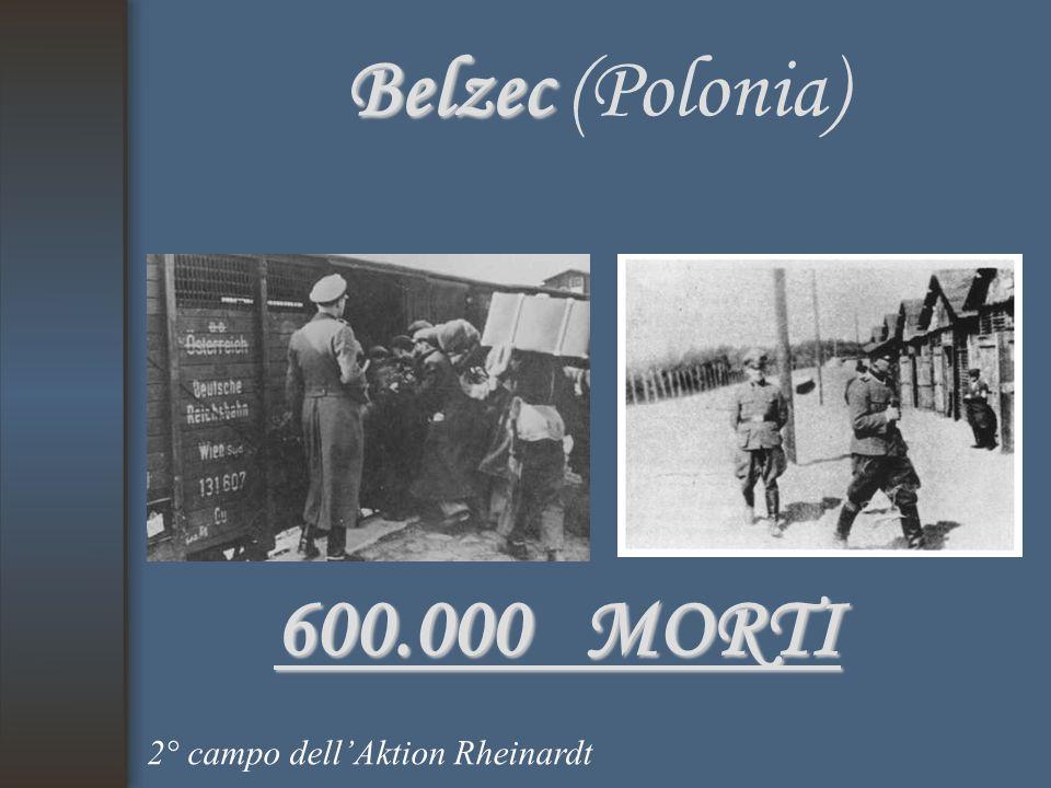 Belzec (Polonia) 600.000 MORTI 2° campo dell'Aktion Rheinardt