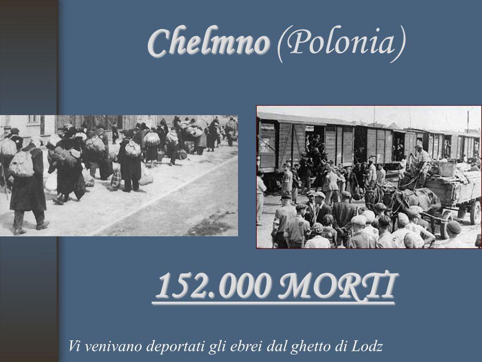 Chelmno (Polonia) 152.000 MORTI