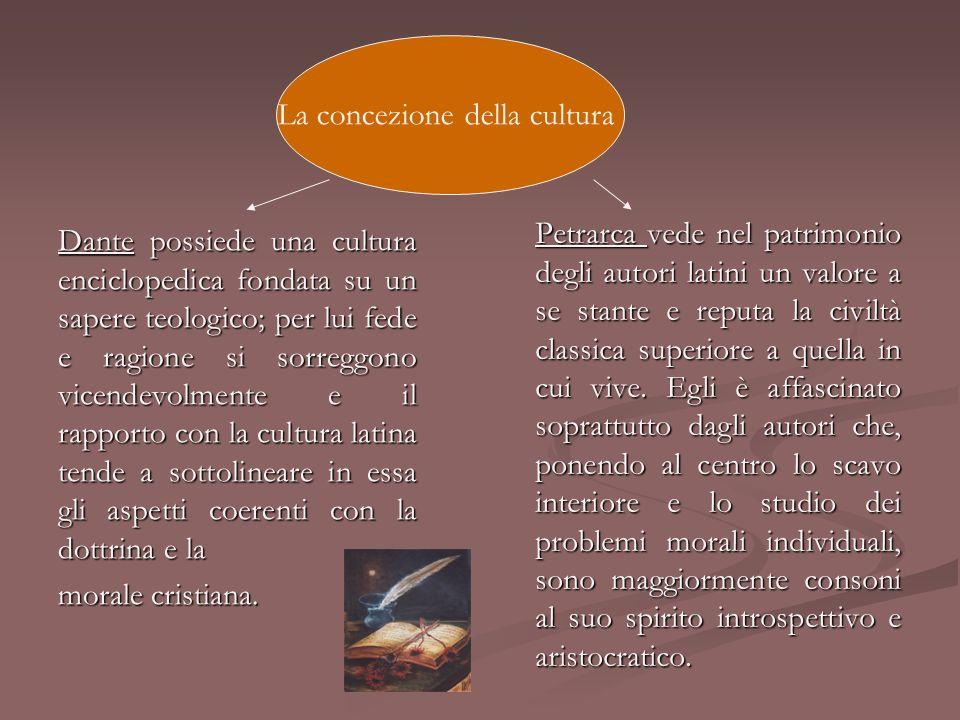 La concezione della cultura