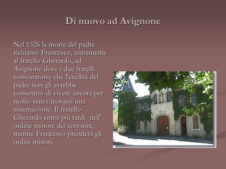 Di nuovo ad Avignone