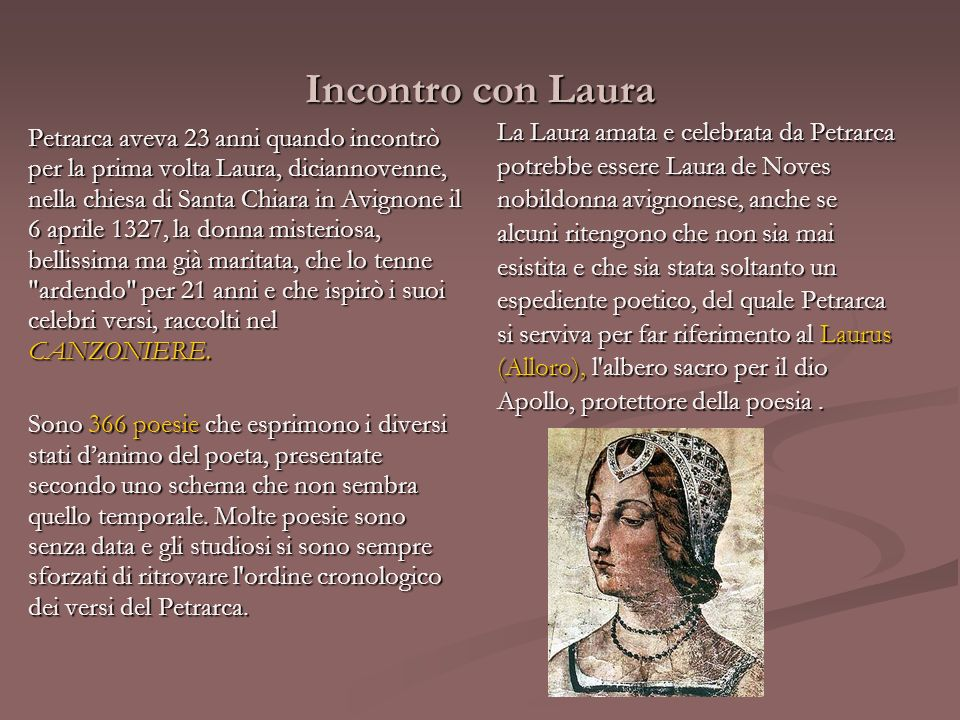 Incontro con Laura