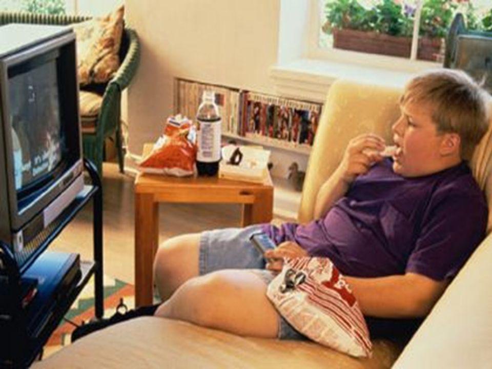 Più del 80% dei ragazzi fra i 7 ed i 11 anni guarda x più di 3 ore di tv computer, videogiochi al giorno!