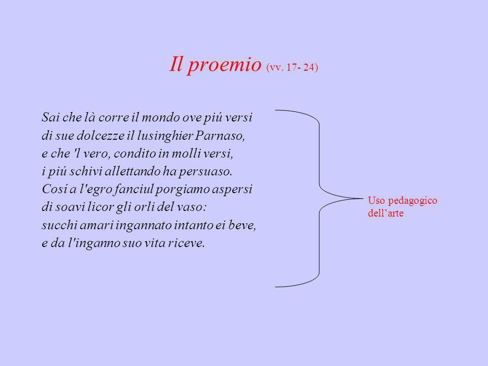 Il proemio (vv. 17- 24)
