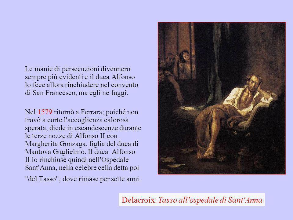 Delacroix: Tasso all ospedale di Sant Anna