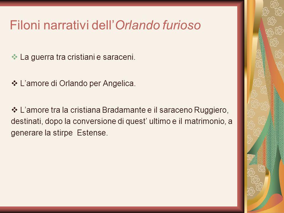 Filoni narrativi dell'Orlando furioso