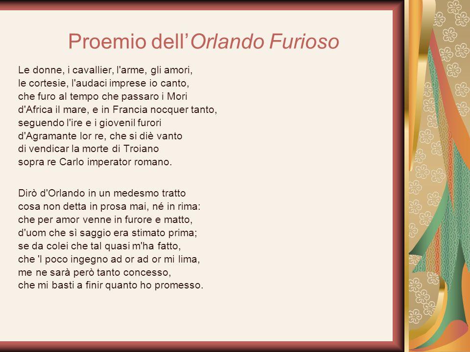 Proemio dell'Orlando Furioso