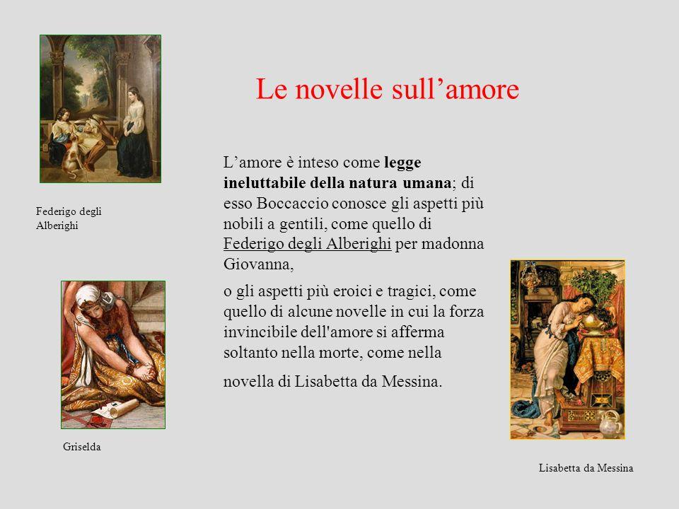 Le novelle sull'amore