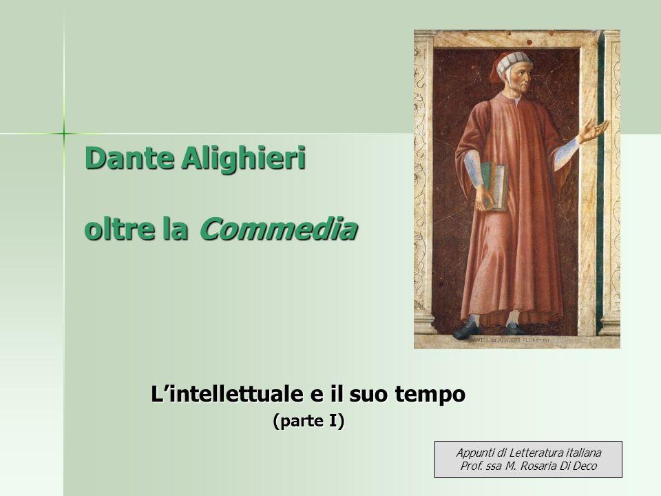 Dante Alighieri oltre la Commedia