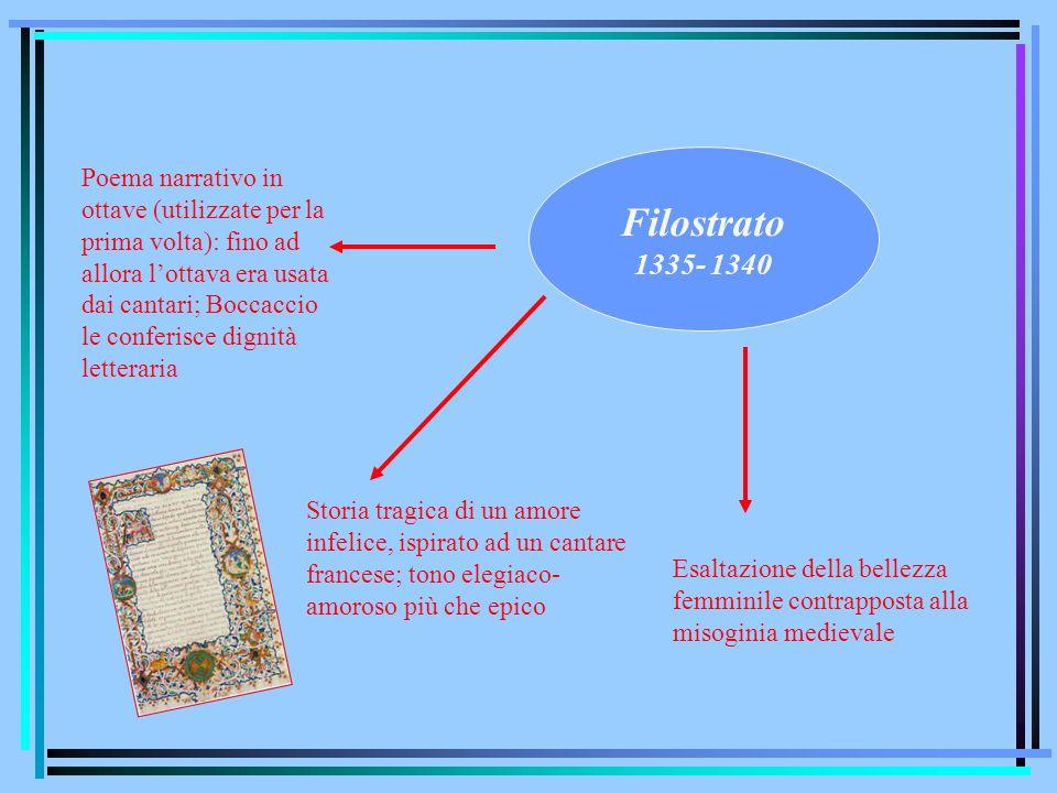 Filostrato 1335- 1340.