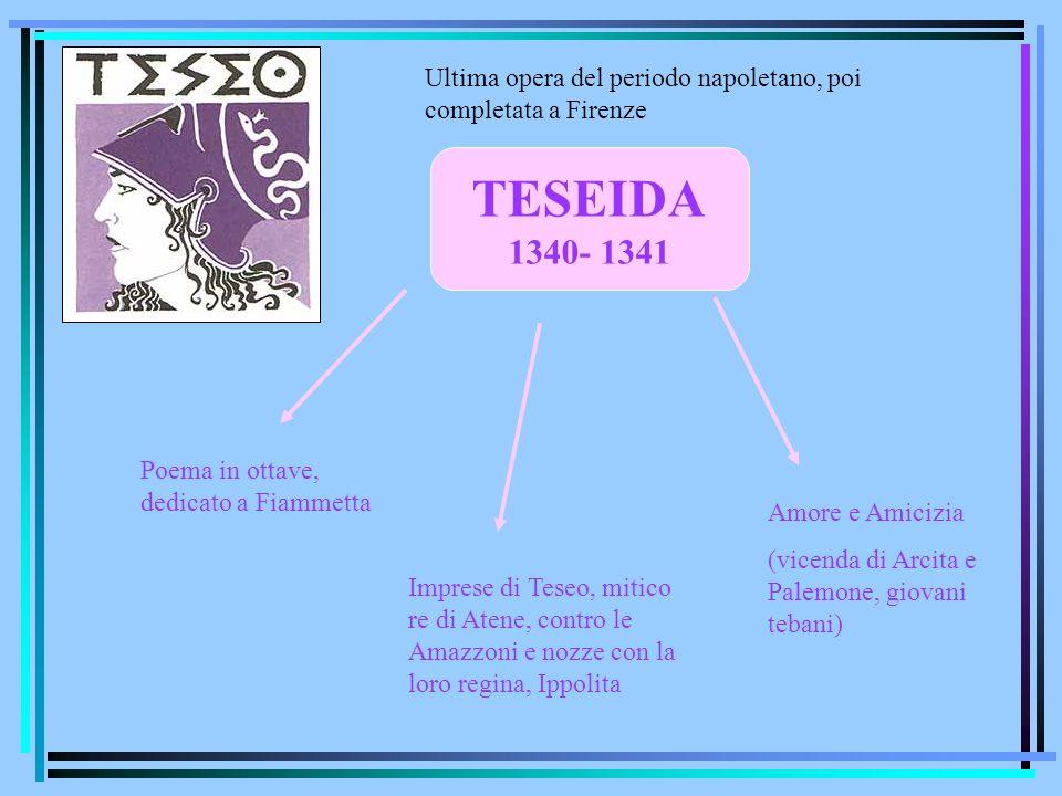Ultima opera del periodo napoletano, poi completata a Firenze