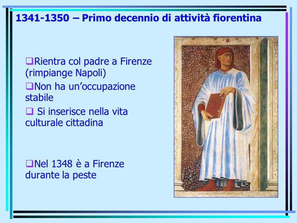 1341-1350 – Primo decennio di attività fiorentina