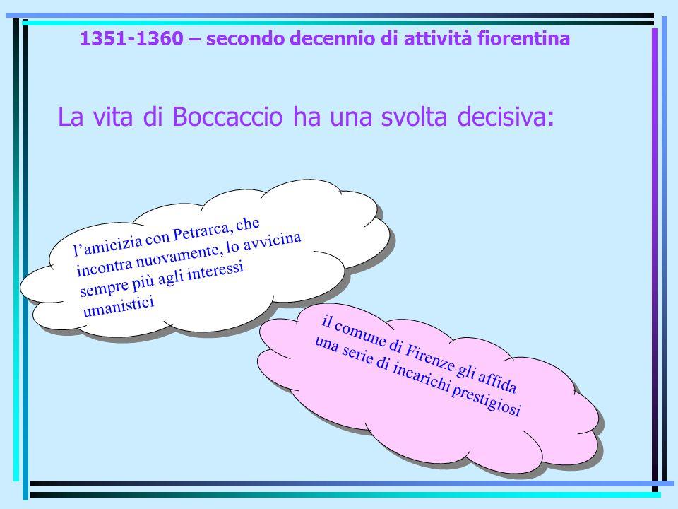 1351-1360 – secondo decennio di attività fiorentina