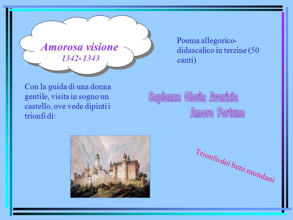 Sapienza Gloria Avarizia