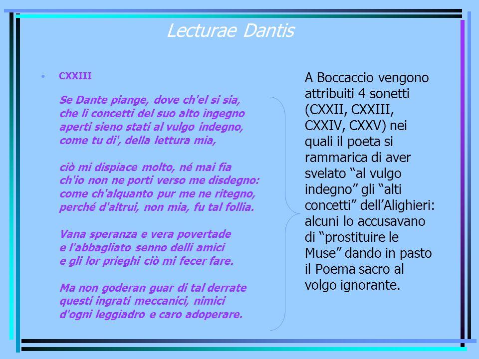 Lecturae Dantis