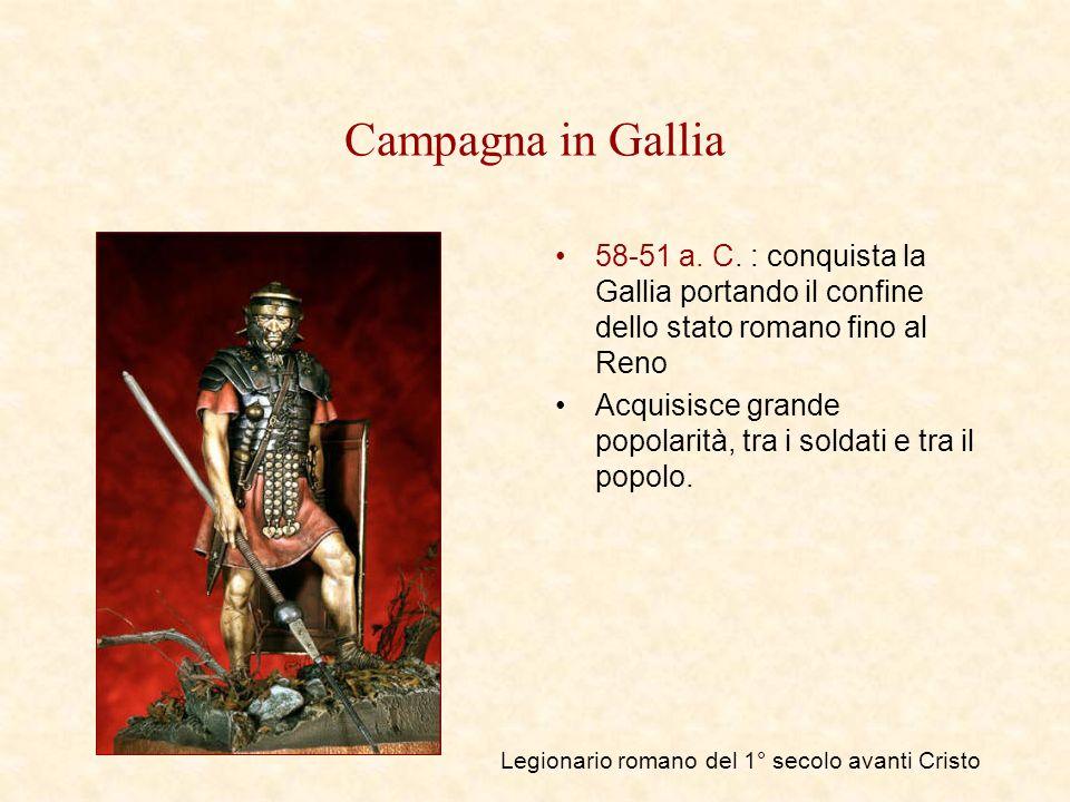 Legionario romano del 1° secolo avanti Cristo