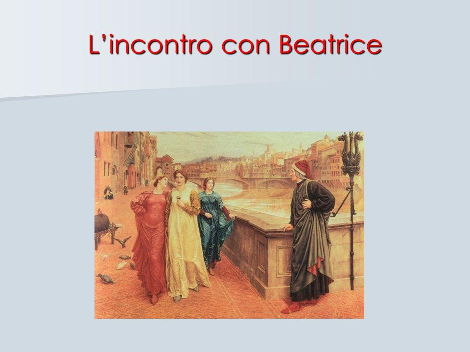 L'incontro con Beatrice