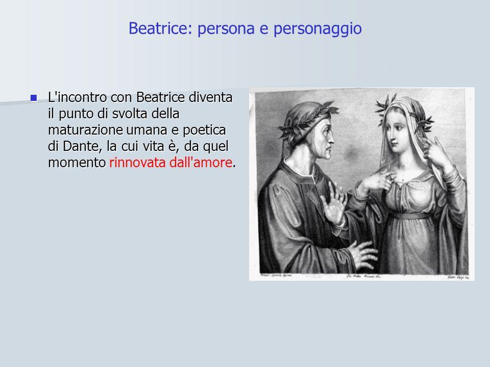 Beatrice: persona e personaggio