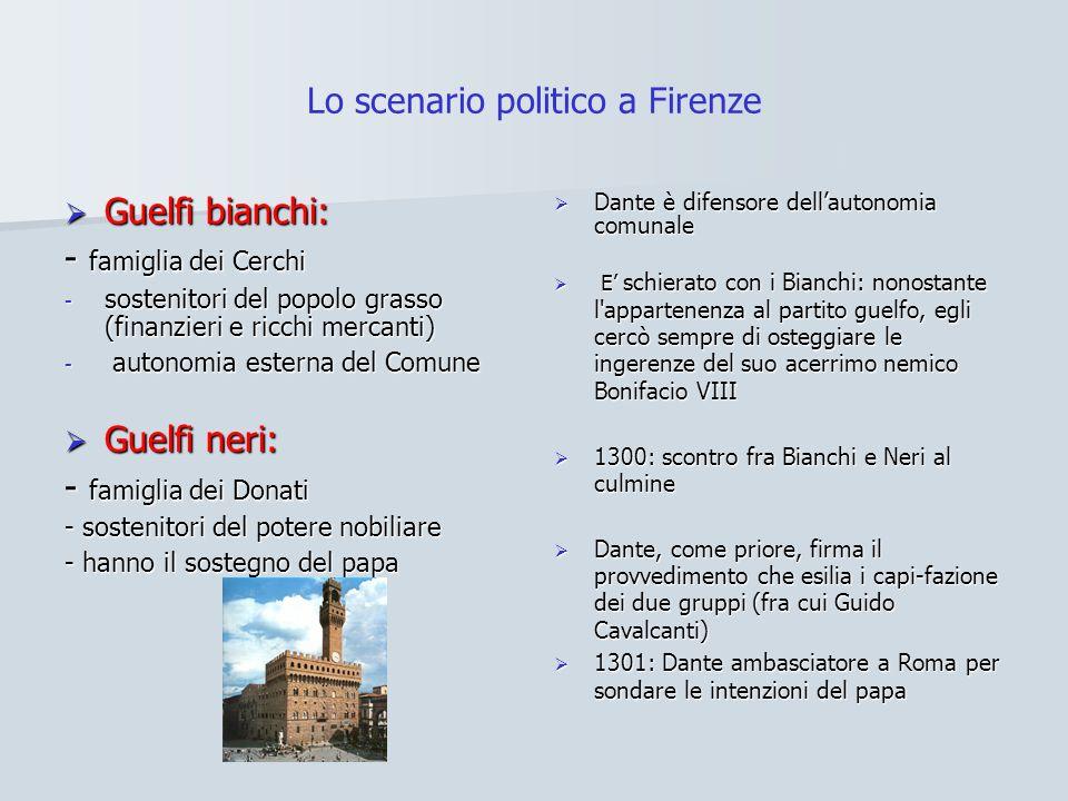 Lo scenario politico a Firenze