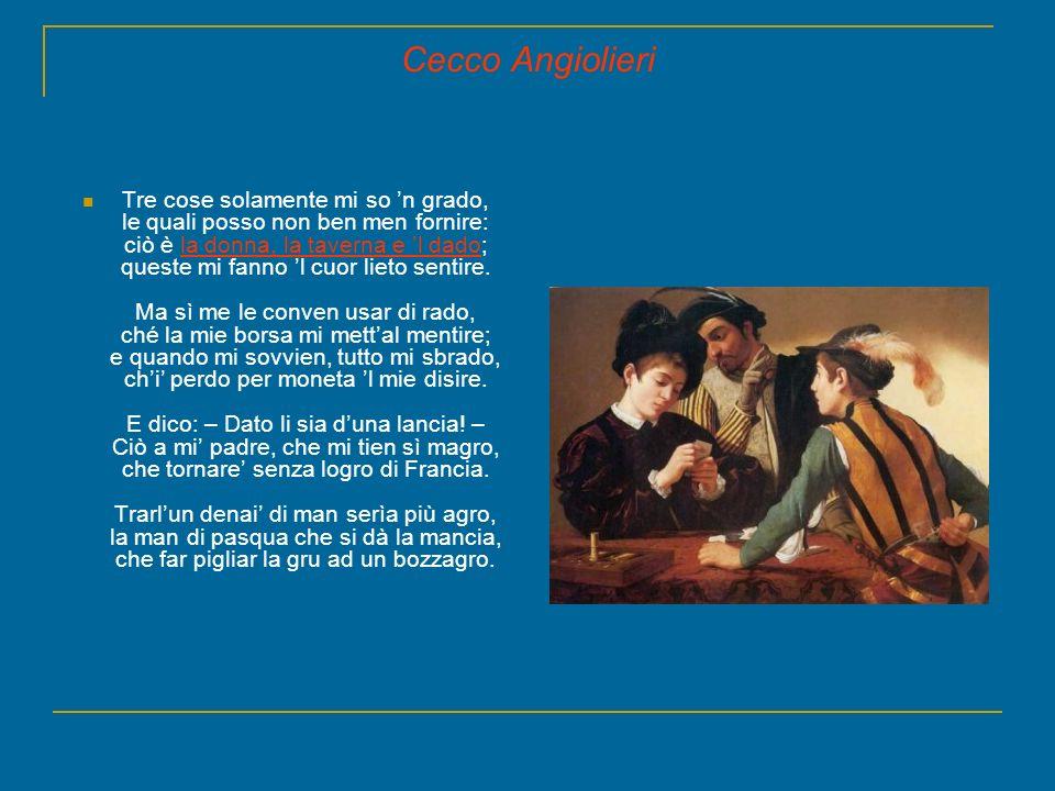 Cecco Angiolieri