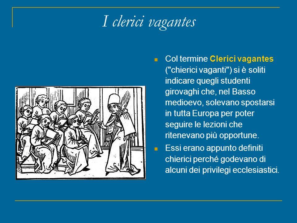I clerici vagantes