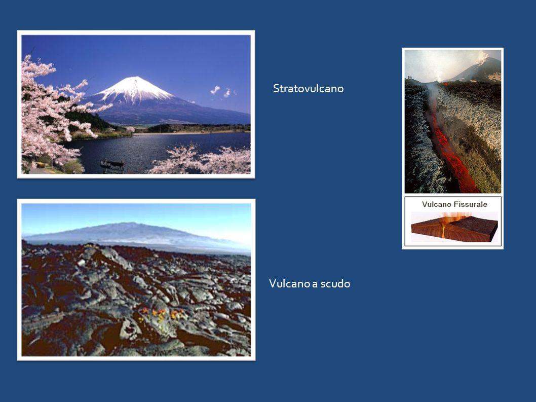 Stratovulcano Vulcano a scudo
