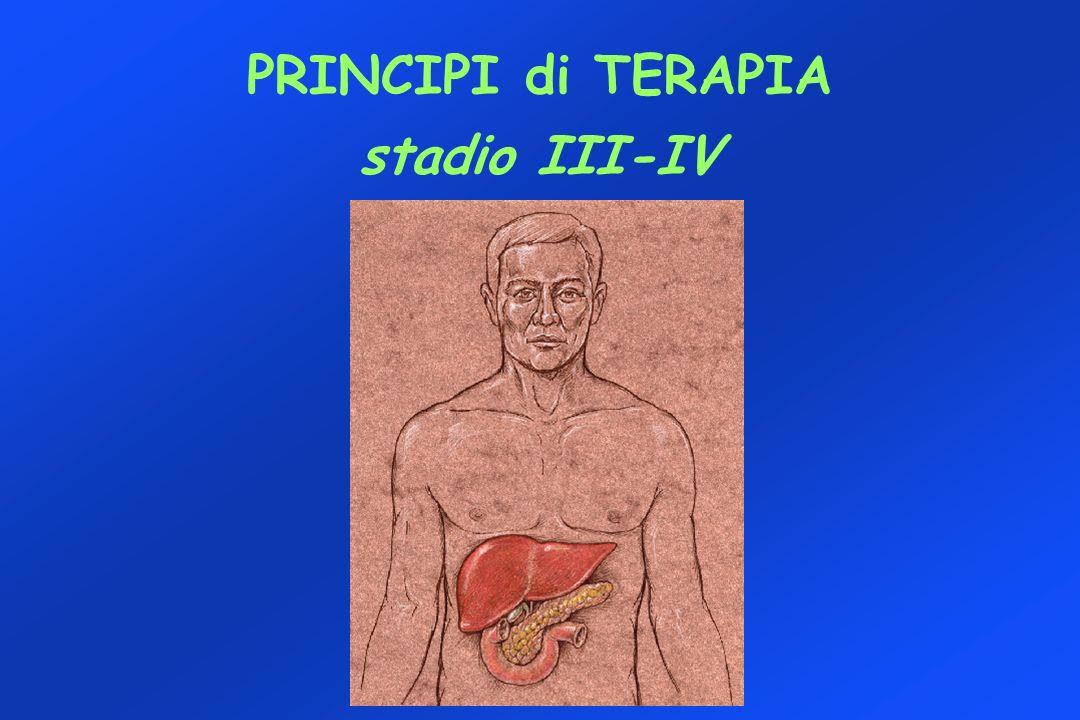 PRINCIPI di TERAPIA stadio III-IV