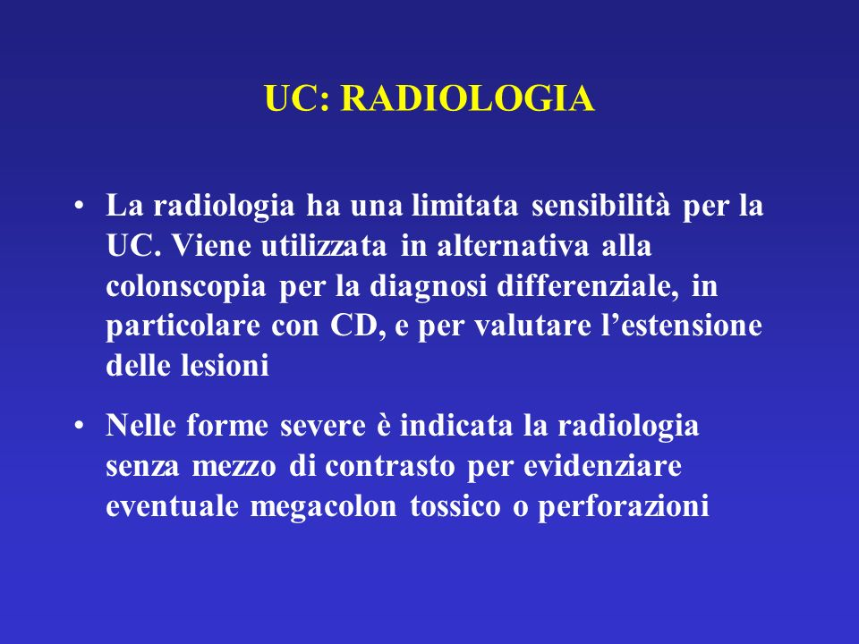 UC: RADIOLOGIA