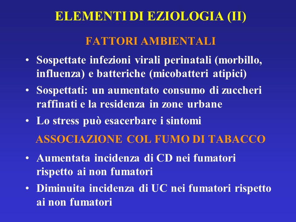 ELEMENTI DI EZIOLOGIA (II)