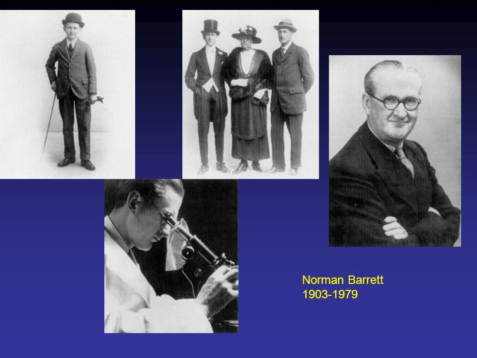 Norman Barrett 1903-1979