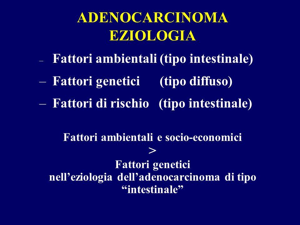 ADENOCARCINOMA EZIOLOGIA