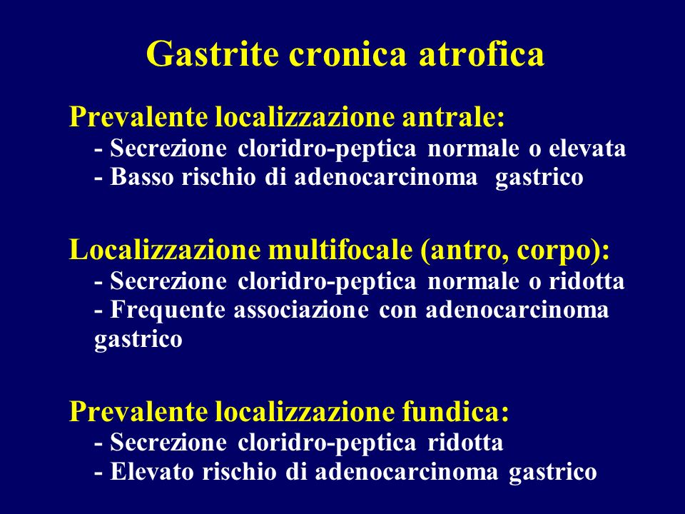 Gastrite cronica atrofica