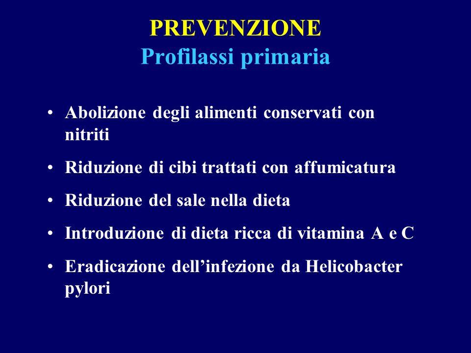 PREVENZIONE Profilassi primaria