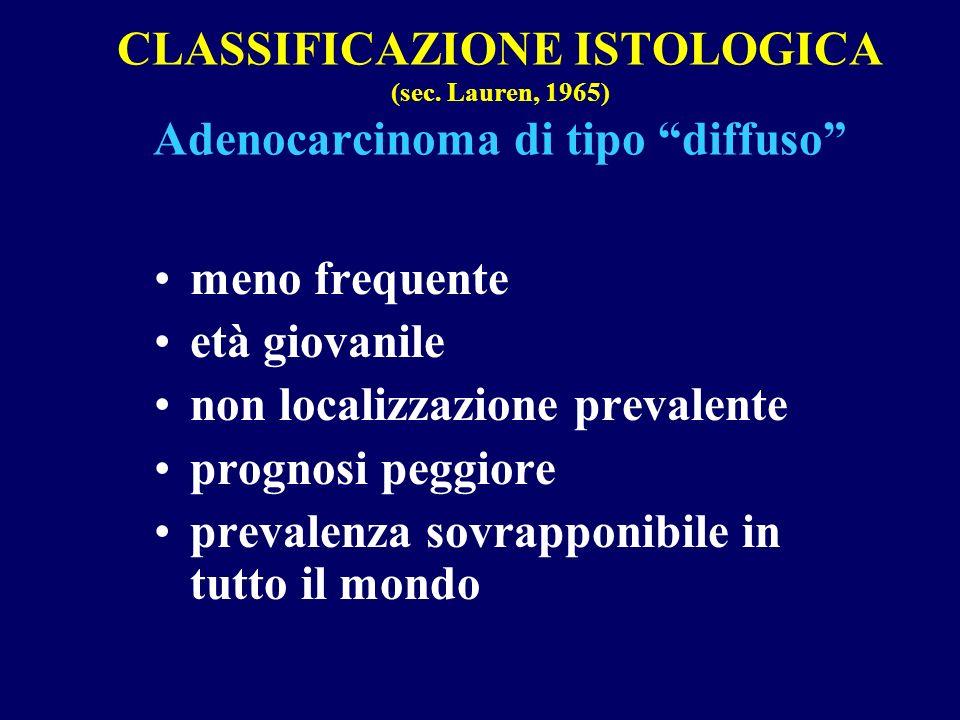 CLASSIFICAZIONE ISTOLOGICA (sec
