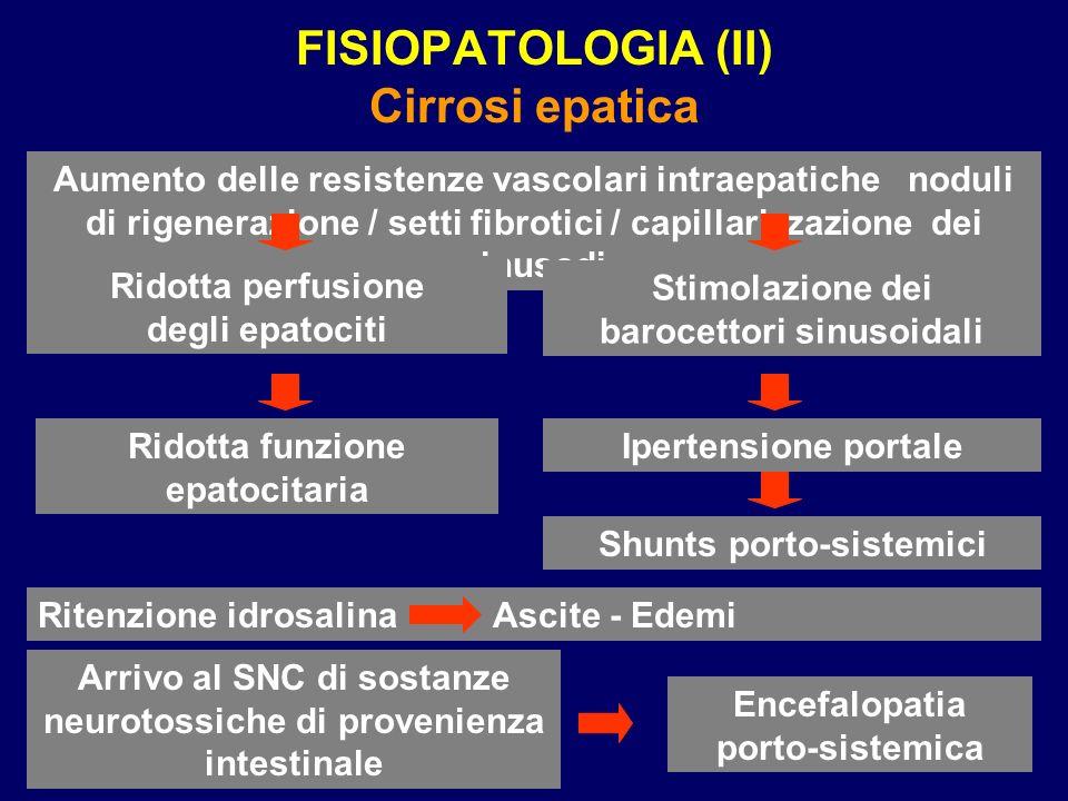 FISIOPATOLOGIA (II) Cirrosi epatica