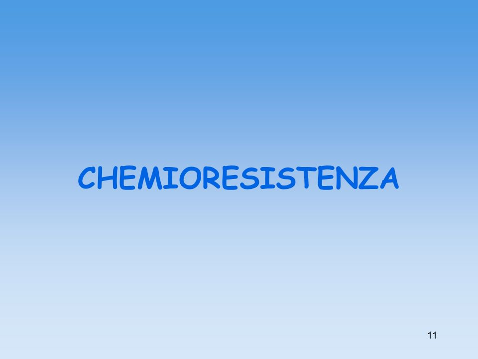 CHEMIORESISTENZA 11