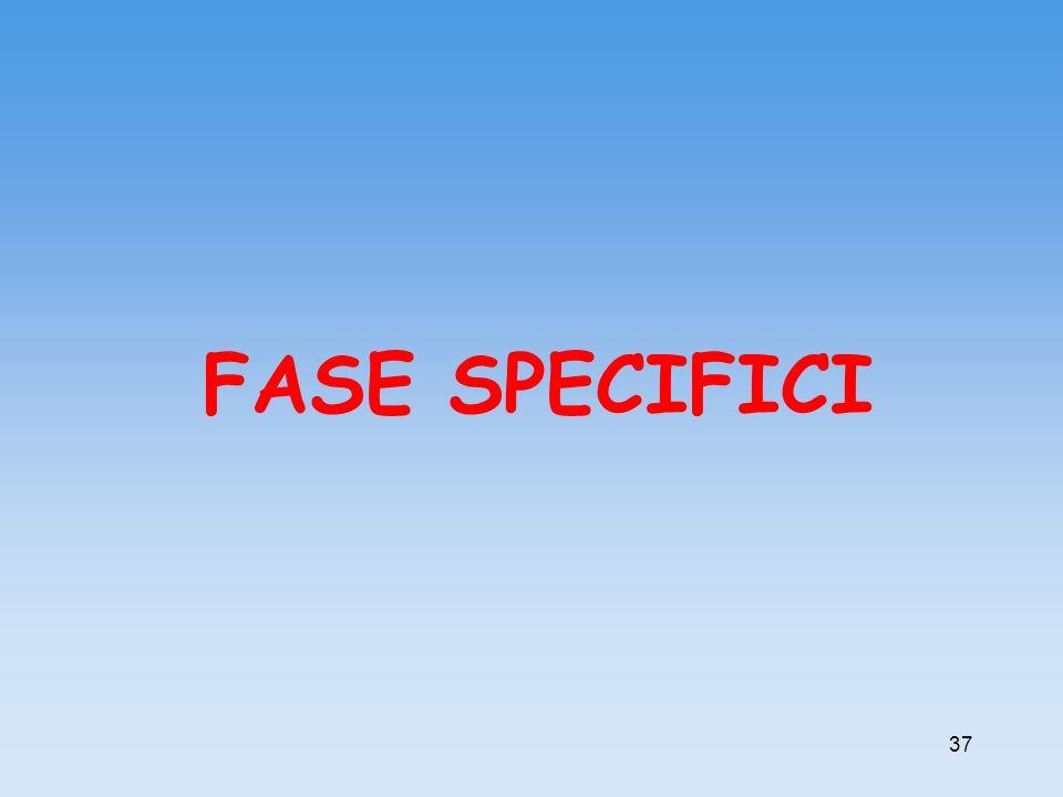 FASE SPECIFICI