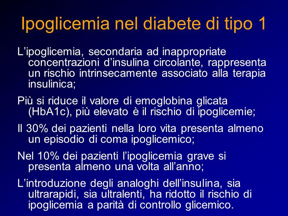Ipoglicemia nel diabete di tipo 1