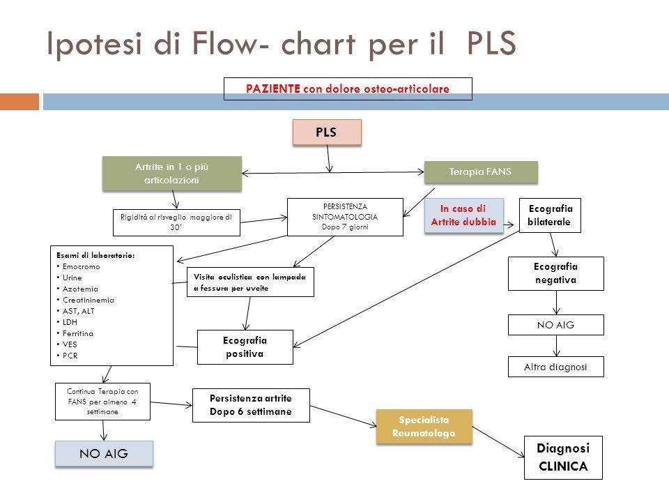 Ipotesi di Flow- chart per il PLS