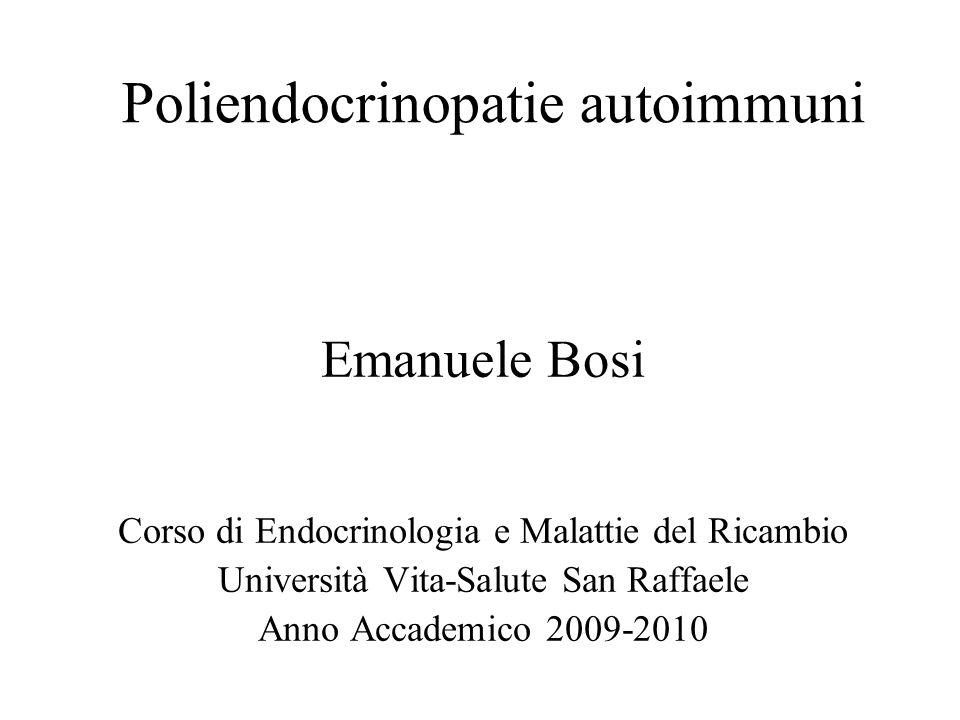Poliendocrinopatie autoimmuni