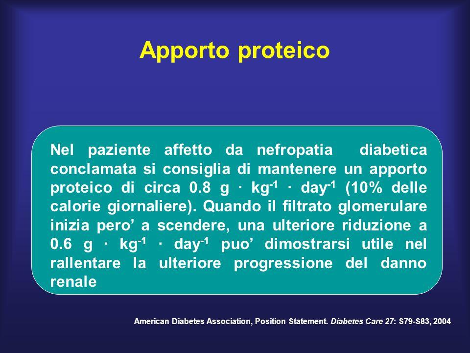 Apporto proteico