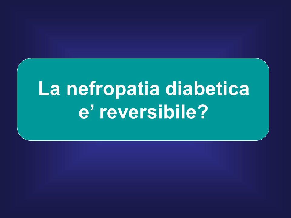 La nefropatia diabetica